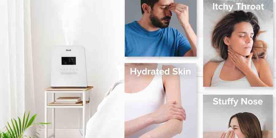 Humidificador vapor frio. humidificador purificador. Purificador humidificador. Ionizador de aire precios