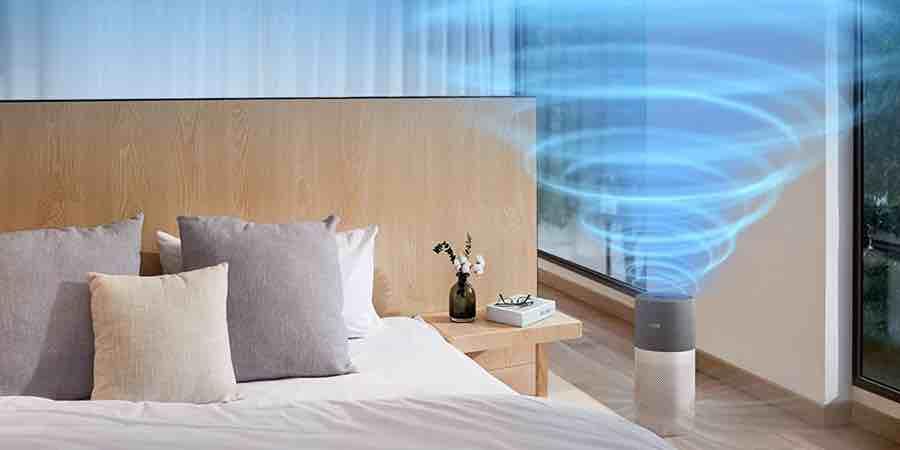 Aire sano con el purificador de aire Philips AC3033/10