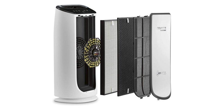 Sistema de 4 filtros del Rowenta PU6080